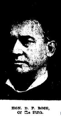D.P. Rose - Builder of Rose-Lovell